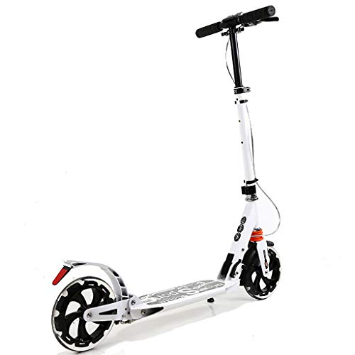 Patinetes Scooter para Adultos con Freno Doble, Scooter Kick Plegable de Altura...