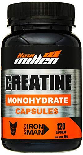 Creatina Monohydrate, 120 Cápsulas, New Millen