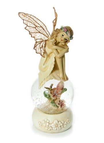 Mousehouse Gifts Globo de Nieve Adornos Hermosa Hada Regalo para niñas