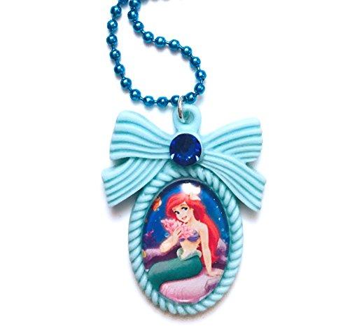 Les Bijoux Acidulés - Collier Fantaisie La Petite Sirène Ariel - Bijoux Disney pour Femme ou Adolescente