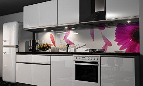 Küchenrückwand Folie selbstklebend Klebefolie Dekofolie Spritzschutz Küche verschiedene Größen