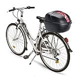 Givi CY25N Bicicleta Baúl, 25 litros, Color Negro, Maximo 3 Kg de Carga