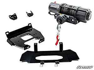 Super ATV Black Ops Heavy Duty Winch