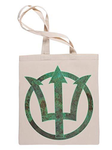 Poseidón Bolsa Fe Compras Reutilizable Reusable Tote Shopping Bag