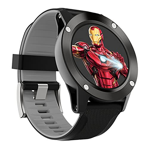 KKZ R911 Smart Watch Dispositivo Portátil Moda Moda Iron Man IP67 Pedómetro Impermeable Tracker Sports Professional Smart Watch,B