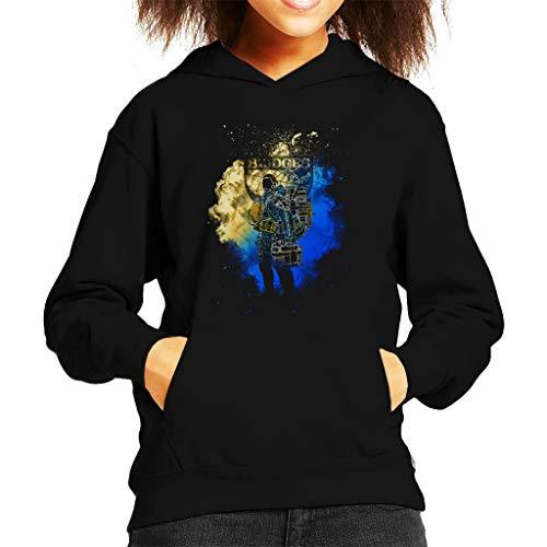 Cloud City 7 Sam Bruggen Deliveryman Death Stranding Kid's Hooded Sweatshirt