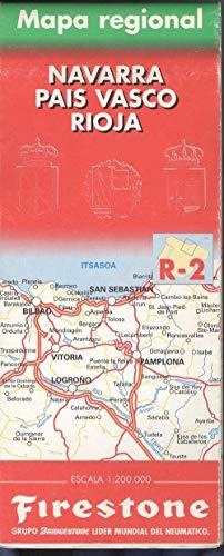 Mapa del pais Vasco-Navarro y la Rioja r-2 (Firestone Turisticos)