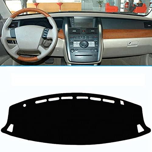 NUIOsdz Cubierta negra para salpicadero de coche, parasol automático, protector de alfombra, para Nissan Murano (2015-2020) 2016-2017-2018-2019