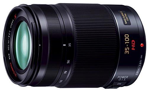 Panasonic lumix g x vario lens, 35-100mm, f2. 8 asph. , professional mirrorless micro four thirds, power optical i. S. , h-hs35100 (2012 model - usa black)