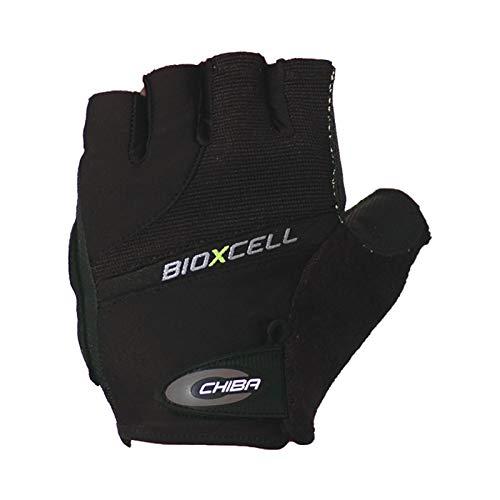 Chiba Rollstuhl-Handschuhe BioXCell, Schwarz, M