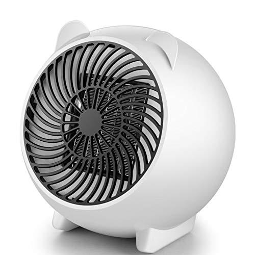 ZZQ Luftheizung, elektrische Heizung, Heizung mit einstellbarem Thermostat, Überhitzungsschutz, kompakter keramischer PTC-Thermostat,