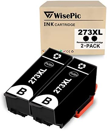WisePic 2 Packs 273XL Remanufacture Ink Cartridge Replacement for Epson 273XL 273 XL T273XL product image