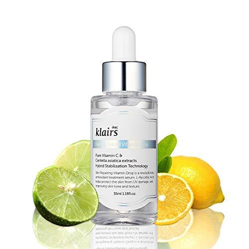 【クレアス】フレッシュリジューシドビタミンドロップ(35ml)|韓国コスメ・純粋ビタミンC・ピュアビタミンC・ビタミンCセラム・美白・角質・低刺激|[dear,klairs] Freshly Juiced Vitamin Drop 35ml