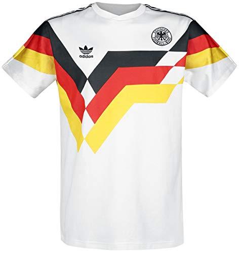 adidas Originals Herren T-Shirt Deutschland Weiss (10) L