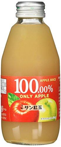 りんごジュース サン紅玉 200ml