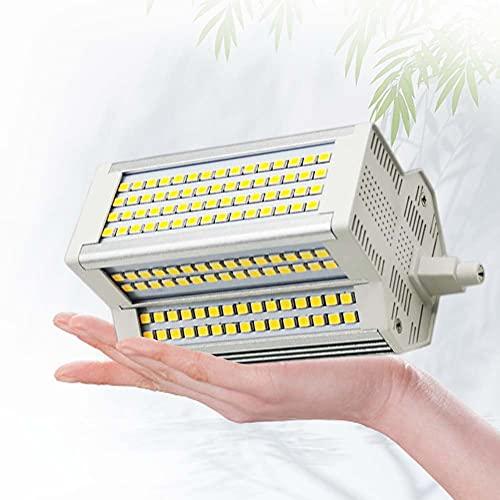 Lampadina LED 118mm R7S Dimmerabile 50W R7S Proiettore Tipo J a Doppia estremità da 118mm J118 Bianco Caldo 3000K 450-500W Sostituzione alogena
