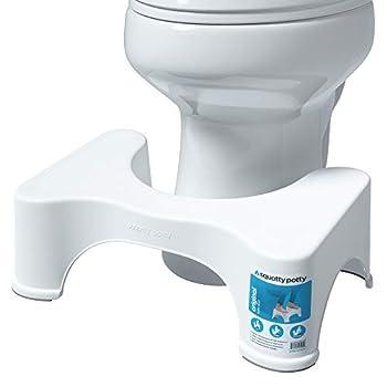 Squatty Potty The Original Bathroom Toilet Stool 7 Inch height White