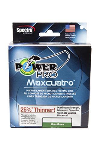 PowerPro 33400200500E MaxCuatro Spectra HT Braided Fishing Line,Multi,OS