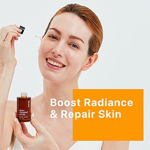 41QhGos3xHS. SL500  - Cica Vitamin C Serum for Face, Korean Face Serum for Anti-Aging, Hydrating, Dark Spot 1.1oz