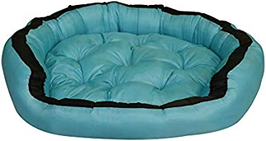 Mellifluous Premium Waterproof Reversible Washable Dog Cat Pet Bed