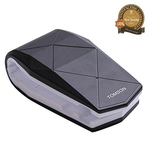 Tomson werbegeschenk telefon inhaber silikon multifunktions krokodil klammer handy halterung für auto cockpit steht klammer für das iphone 7 samsung galaxy s6 htc blackberry iphone8(schwarz & weiß)