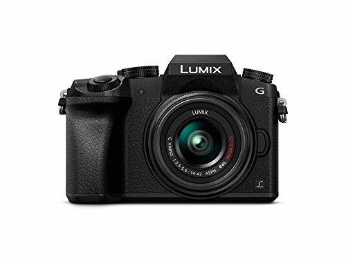 Panasonic DMC-G70KEG-K Lumix Systemkamera (16 Megapixel, 4K Video, 7,5 cm (3 Zoll) Touchscreen, WiFi) mit Objektiv Lumix G Vario F3,5-5,6/14-42 Asph/OIS schwarz