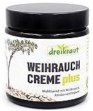 Weihrauch-Creme plus von dreikraut, mit Weihrauch-Öl, Arnika und Ingwer, 110ml im Tiegel