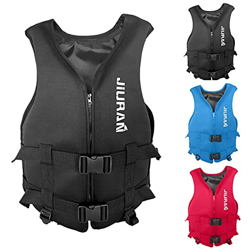 Life Jackets for Adults, Water Sport Jacket Life Vests Water Sports Accessories for Sailing Fishing Surfing Watersport Boating Kayaking Jacket Surfing Vest Waistcoat for Sailing
