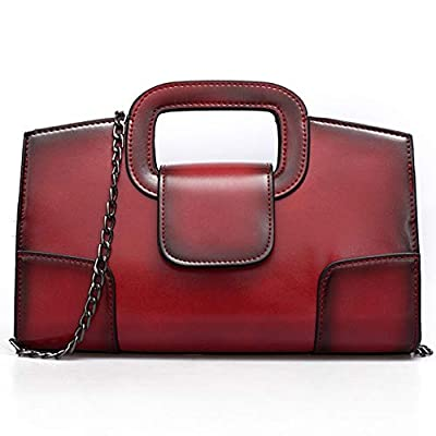 Sanxiner Leather Evening Handbags/ Clutches Bags Crossbody Purse for Women
