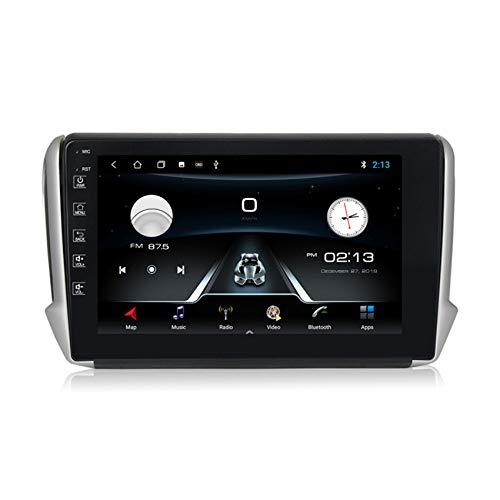 ADMLZQQ Autoradio Android10.0 per Seat Ibiza 2001-2006 HD Touch Screen multimediale Lettore MP5 Supporta GPS Navi Comandi al Volante Vivavoce Bluetooth FM/RDS(PX6),M100,1+16G