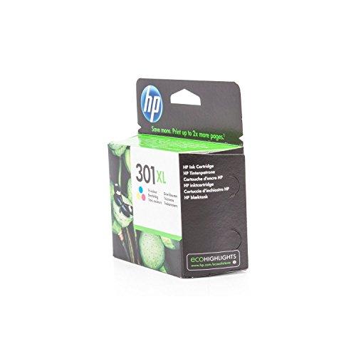 Original XL de tinta para HP Deskjet 2050A HP 301, 301x l CH564EE–PREMIUM Impresora de tinta–Cian, Magenta, Amarillo–330páginas–8ml