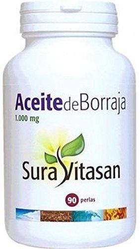 Aceite de Borraja 90 perlas de 1000 mg de Sura Vitasan