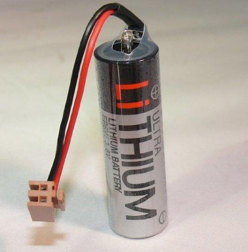 TOSHIBA - Batterie Lithium ER6V / 3.6V Typ Toshiba + Fanuc-Stecker - ER6V