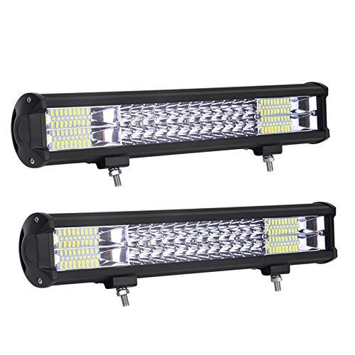 Z@SS LED-Lichtleiste LED Fernlicht Off Road Lichter IP67 wasserdicht LED-Arbeits-Licht für Jeeps Projektfahrzeuge Bagger Traktoren