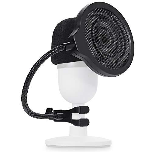 Microphone Razer Seiren Mini Bonnette en Mousse avec Filtre Anti Pop Améliorant la Qualité Sonore pour Microphone USB Streaming Razer Seiren Mini par YOUSHARES