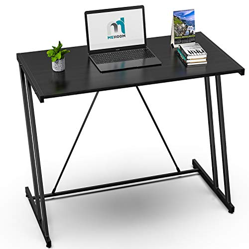 Computer Desk Mehoom Study Desk for Home Office, Writing Desk for Small Space Office, Modern Simple...