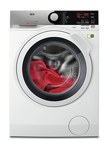 AEG L8FEE845X Libera installazione Carica frontale 8kg 1400Giri/min A+++-50% Grigio lavatrice