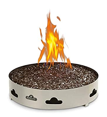 Napoleon GPFGN-2 Patioflame Natural Gas Fire Pit, Stainless Steel