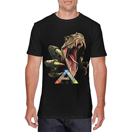 Mens Classic Ark Survival Evolved T Shirts Black,T-Shirts & Hemden(XX-Large)