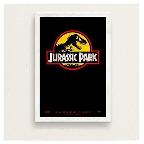 JCYMC Leinwand Bild Jurassic Park Filmreihe Kunst Malerei Vintage Leinwand Poster Wand Wohnkultur Yv33Tz 40X60Cm Rahmenlos