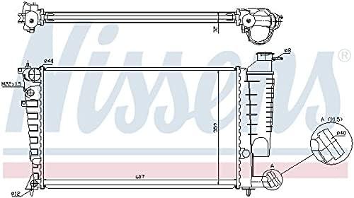 Nissens 63512A New mail order Radiator cooling engine Many popular brands