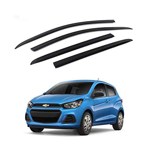 New Smoked Door Visor K901-151 for Chevrolet The Next Spark 2016-2017 Weather Shield Windown Visor
