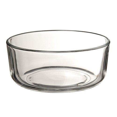 WMF Top Serve Ersatzglas rund 13 cm, Ersatzteil für Frischhaltedose, Aufbewahrungsbox Glas, Aufschnittbox Glas