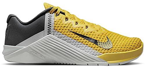 Nike Metcon 6 Trainer Unisex Adulto, Bright Citron Dk Smoke Grey Fo, 44.5 EU