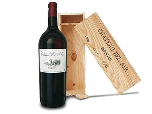 Cabernet Sauvignon - Merlot | Château Bel Air | Frankreich-Bordeaux | (1x 1,5l) Magnum in Holzkiste Rotwein-trocken