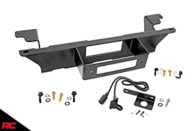 Rough Country Hidden Bumper Winch Mounting Kit (fits) 1999-2006 Chevy Silverado GMC Sierra 1500 | 11002