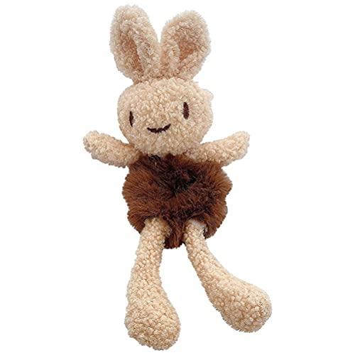 Dapuly Cintas elásticas para el pelo, diseño de conejo, accesorio para mujeres y niñas