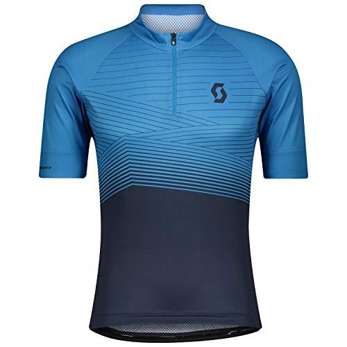 Scott Endurance 20 Fahrrad Trikot kurz blau 2021: Größe: XL (54/56)