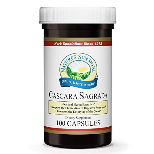 Nature's Sunshine Cascara Sagrada 100 Capsules