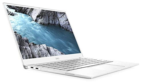 """2020 Dell XPS 13 9380 Laptop, 13.3"""" 4K UHD 3840x2160 Touch Display Screen, Intel Core 8th Gen i7-8565U, 1TB PCIe SSD, 16GB 2133MHz RAM, Frost White"""